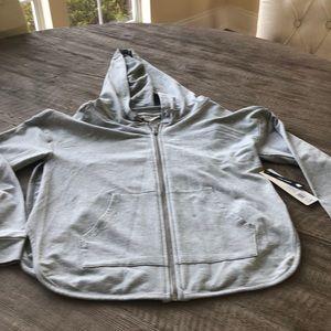 Nanette lepore gray hoodie